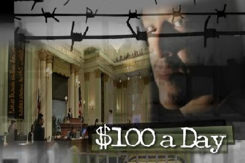 100 Dollars a Day cover